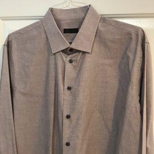 14th and Union Mens Button-Down Dress Shirt XL EUC